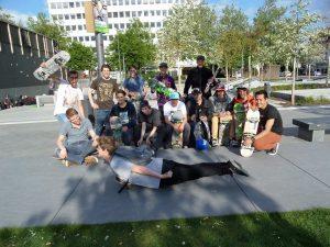 Jongerencentrum De Tavenu. Skategroep