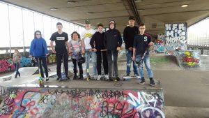 Jongerencentrum De Tavenu. Stuntsteppers