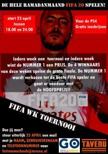 Jongerencentrum De Tavenu: Ramadan FIFA toernooi
