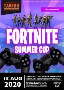 Jongerencentrum de Tavenu: Fortnite summer Cup